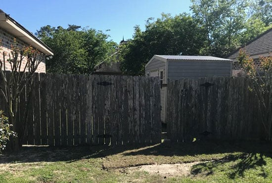 pressure-treated-pine-privacy-fence-BEFORE