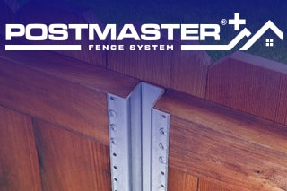 PostMaster Hurricane-Proof Fence Posts